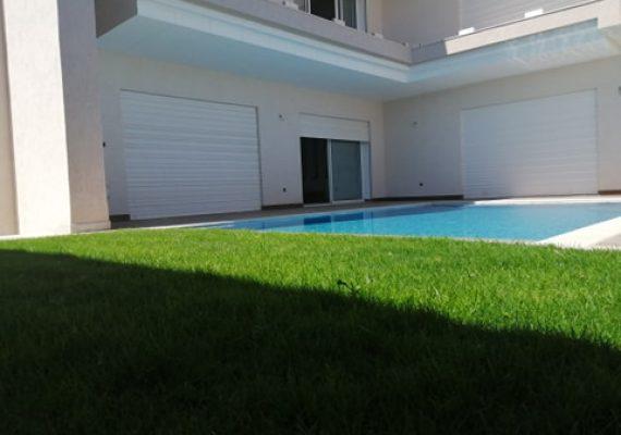 a louer une belle villa 🏘️de haut standing dans un quartier #chic à la #soukra chotrana 1