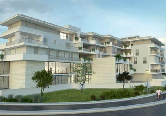 Lecce – Nella nuova zona in costruzione, tra viale Grassi e via San Cesario, è in fase di avvio il complesso residenziale Parco dei Tigli