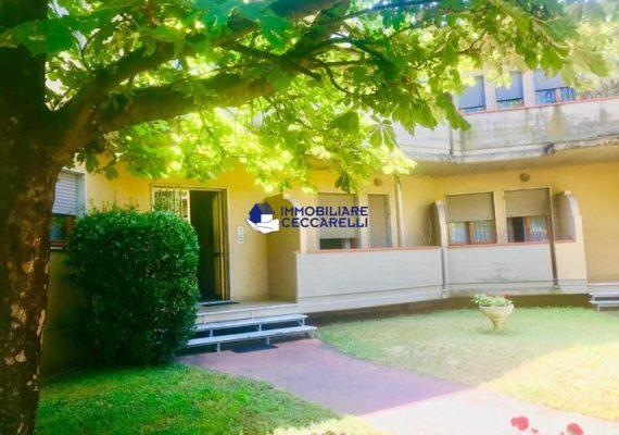 Mirteto (Massa) – Appartamento al 1° ed ultimo piano composto da soggiorno con camino e comoda terrazza, cucina con balcone, camera matrimoniale con balcone e zona armadi, cameretta e bagno.