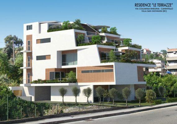 Nello splendido scenario di Cannitello, a 100mt dal mare, proponiamo appartamenti di nuova costruzione, di varie metrature, con verande a partire da 20mq.