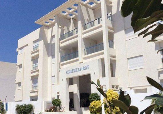 📢 À vendre َà Hammamet Nord, appartements S+1 et S+2 – Résidence «LA GRIVE «.