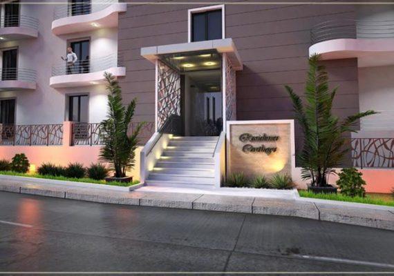 Vous êtes a la recherche d'un appartement a votre choix! La résidence Carthage,réalise votre rêve clés en mains.