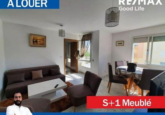 🚏A #louer #appartement s+1️⃣ aux berges du #lac2.