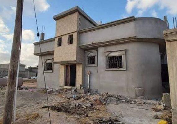مخطط المنصوري منطقة الهواري _ السيدة عائشة بعد فيلت بنغازي للمناسبات