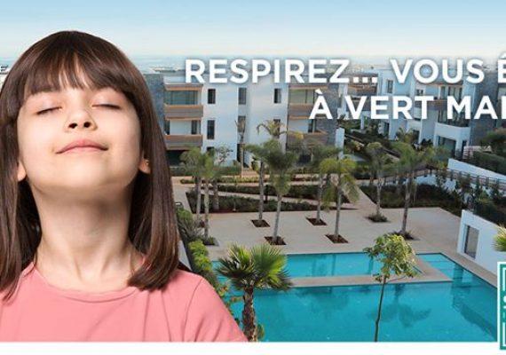 Achetez votre appartement sur notre projet situé entre Casablanca et Dar Bouazza et ne payez qu'en 2021