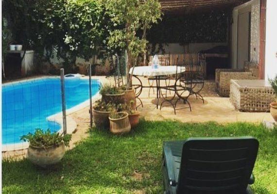 A louer Villa dans une résidence Ain Diab 4 chb prix 21.000 dhs/mois