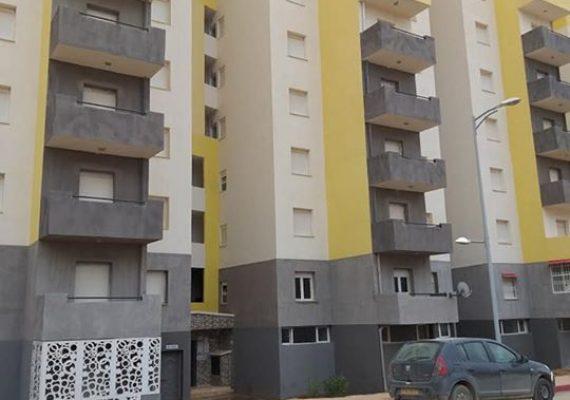 L'agence GALLILOU IMMOBILIER met en location un appartement f3 situé à nouvelle ville Constantine aadl UV 14 extension 7 étage