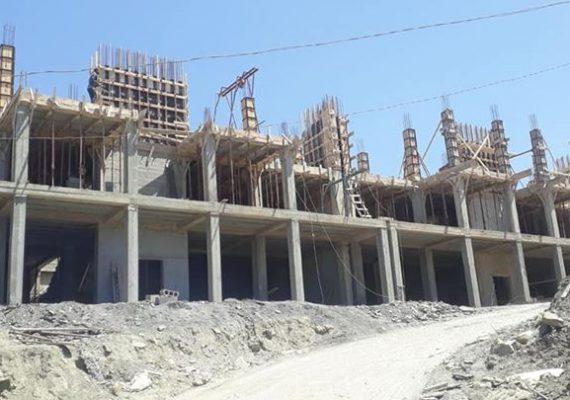 Projet 186 logements + 10 villas Dellys Boumerdes