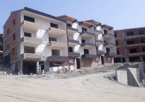 Projet 186 logements + 10 villas dellys boumerdes .