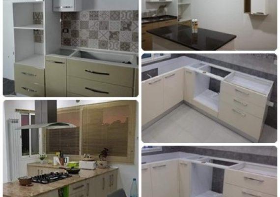 شركة مختصة في صناعة جميع أنواع أثاث المنازل (بيوت حمام – كوزينة – صالونات -بيوت نوم بجميع أنواعها و ألوانها 🛏🛁🚪🛋)