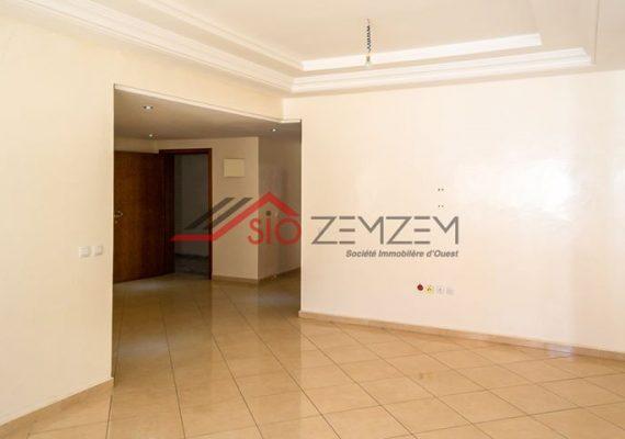 شقة من غرفتين للإيجار في وسط مدينة القنيطرة بالمعمورة /APPARTEMENT DE DEUX PIÈCES À LOUER EN PLEIN CENTRE VILLE