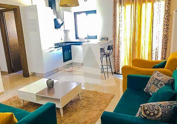 #Arcane_immobilière vous propose la #location d'un Appartement S+1 meublé aux #Jardin_de_Carthage 🇹🇳