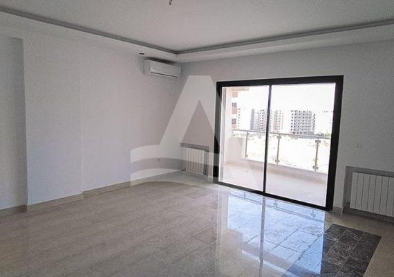 #Arcane_immobilière vous propose la #location d'un Appartement S+2 jamais habitée d'une superficie de 150 m² aux #Jardin_de_Carthage🇹🇳