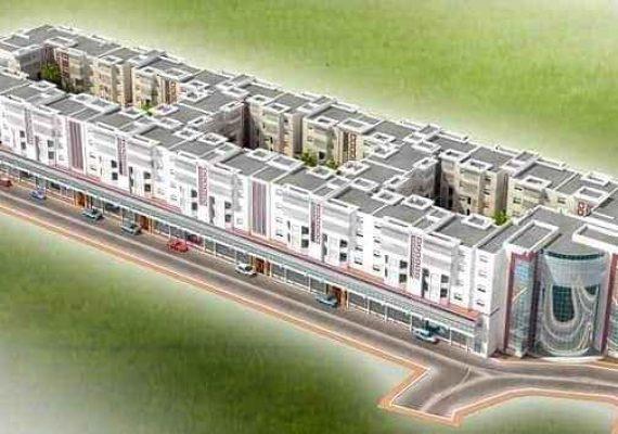 Projet construction 128 logement Algérie ( blida larabaâ)