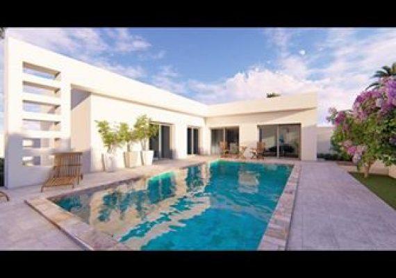 A vendre maison de 125 mètres carrés couverts sur un terrain de 700 mètres carrés