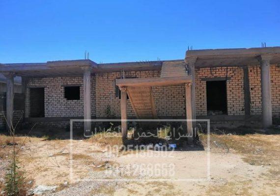 منزل غير مكتمل للبيع
