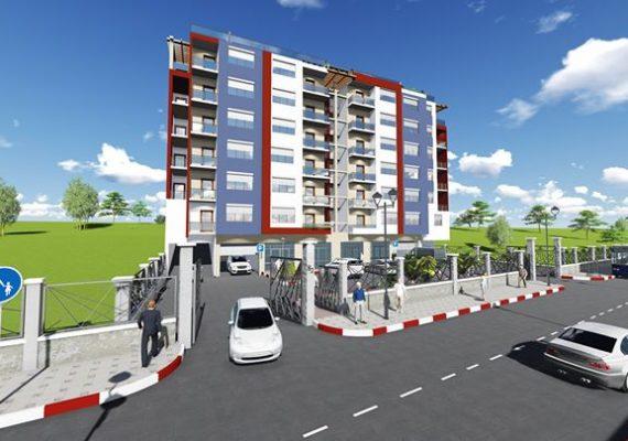 Nous vous offrons des appartements avenir…..
