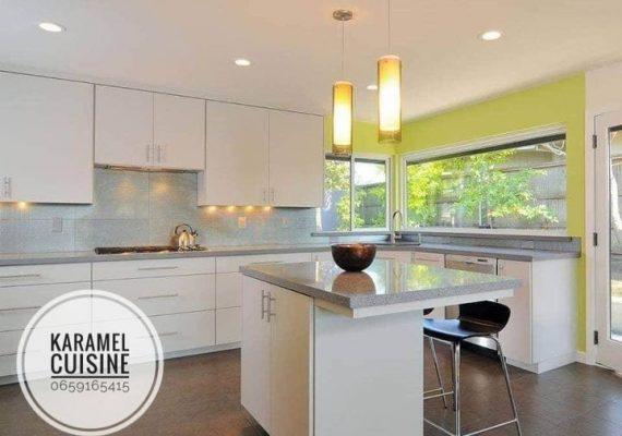 ⚒ Fabrication des cuisines 🍴 Moderne sur Mesure, Haut qualité en MDF de plusieurs couleurs et styles.
