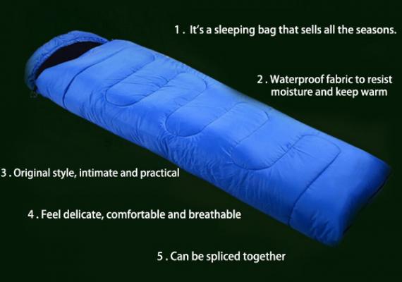 كيس النوم قابل للنفخ دافئ مقاوم للبرد و المطر و الريح خفيف الوزن ويحافظ على الدفء ، ويمنع الرطوبة ، ويمنحك راحة ليلية دافئة ومريحة. خياطة عالية الجودة لا تسبب حساسية يمكن مسحها بسهولة أو غسلها ، شريط منزلق مزدوج بسحاب يسمح لك بفتح الجزء السفلي من كيس النوم الخاص بك في ليلة دافئة. يمكنك حتى فتح كيس النوم الخاص بك بالكامل واستخدامها كفراش.