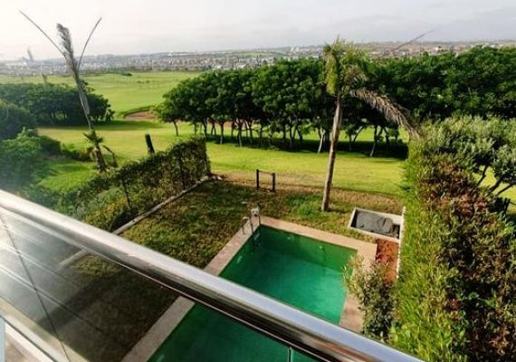 Luxueuse villa à Vendre front de golf dans un complexe haut de gamme avec piscine à Californie golf resort 🌳🌳🌳
