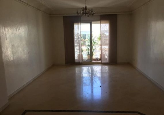 Casablanca – appartement de 145m Bourgogne Bd Tantane à vendre ou à louer
