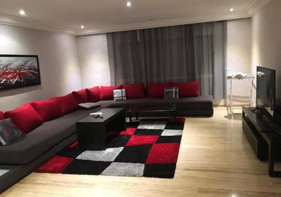 Casablanca – appartement à louer meublé ou vide 186m bd d'anfa
