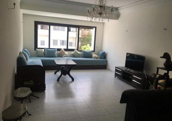 Casablanca – appartement 2 chambres salon à louer vide ou meublé quartier maarif