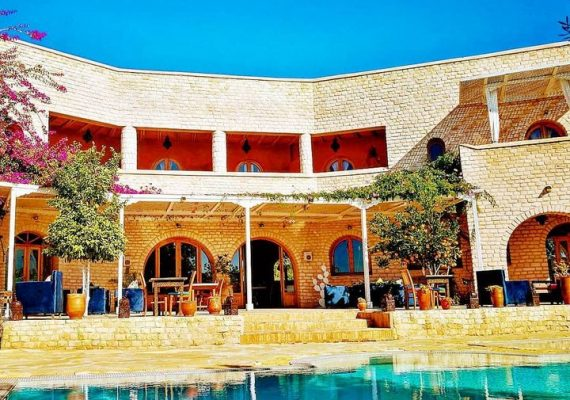 10 minutes from Essaouira les Jardins d'Argane settled in the middle of a cedar forest offers a country house or luxury Douar houses concept with a Moroccan design overlooked, giving a beautiful panoramic view of the Mogadorian western.