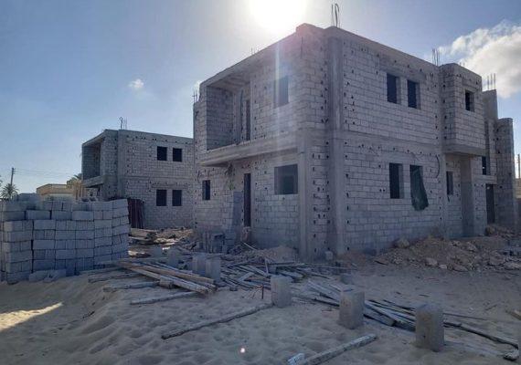 عدد 2 منازل دبلكس في كرزاز بمقسم ارفيده خلف جامع الاحرش للبيع