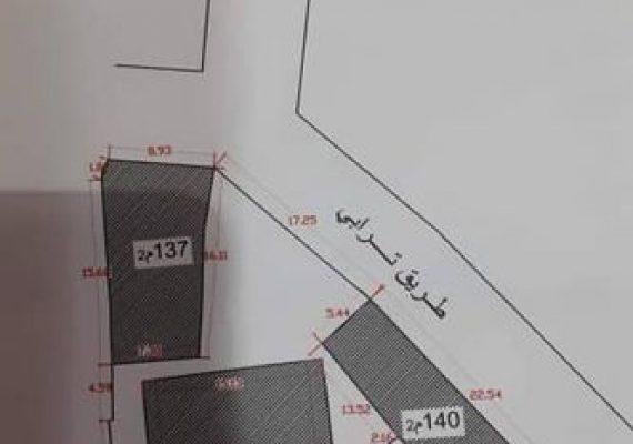 أرض سكنية بامتياز منطقة سور سعود مصراتة… مساحتها 850 متر.. ثلاث واجهات…