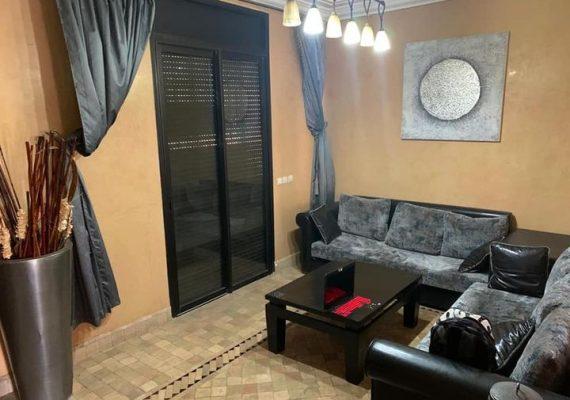 A louer une petite villa meublée dans une résidence fermée quartier targa Marrakech