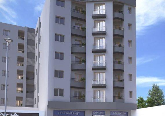 Des Appartement à usage Résidentiel, commercial et bureautique de Haut Standing, Résidence la Cible est située au cœur de Sakiet Ezzit Sfax KM 7.