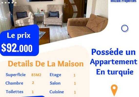Appartement , A vendre à #Istanbul #Fatih juste a 92.000 dollar