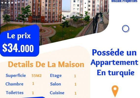Appartement , A vendre dans un complex à #Istanbul #Beylikdüzğ juste a 34.000 dollar