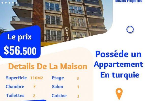 Appartement A vendre dans à #Istanbul #Beylikdüzü juste a 56.500 dollar