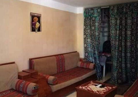🏠 Duplex meublé S+2 à Hammam lif 💲 Prix:500DT : 📣Location annuelle📣 ✅ Duplex meublé S+2 au 1er étage composé d'un salon,2 chambres à coucher ,cuisine ,Salle d'eau ,située dans un quartier résidentiel , endroit calme et agréable, qui se trouve à 3 minutes à pied de la gare Hammam lif
