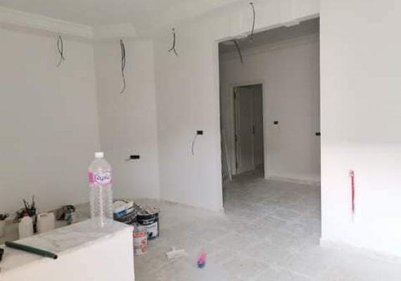 ✅Appartement s+2 nouvelle construction. au 1er étage à Hammam chatt 💲 PRIX:650DT