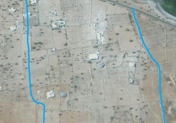 À vendre un lot de terrain de 14900 m2 situé à dar el bidha, avec 2 accès de 8m chacun sur la nouvelle route goudronnée entre fkih amor et chikh yahya.