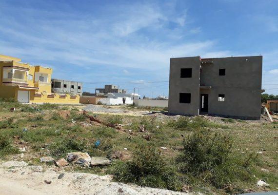 Immobilière Mahran Services vous propose à vendre un terrain lotissée situé à zone garaa tabel de la chebba
