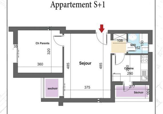👉🔶A Vendre des appartements (S+1,S+2, S+3,S+4) de très haut Standing dans la résidence Dorret Mégrine 🔶👈