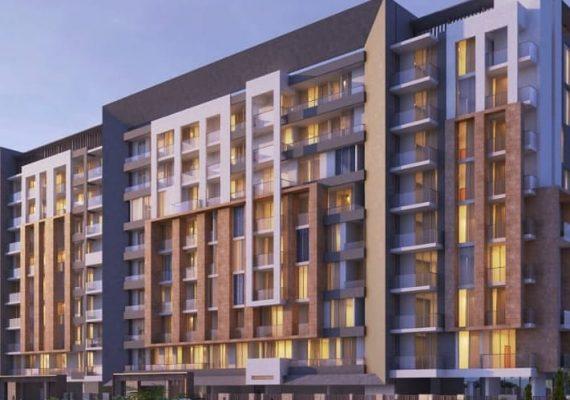 للتملك شقق سكنية استثمارية في عاصمة التطور دبي في الامارات بمنطقة مرابع العربية داخل مجمع سكني