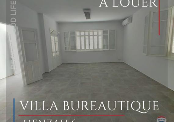 A #louer une #villa à usage #bureautique.