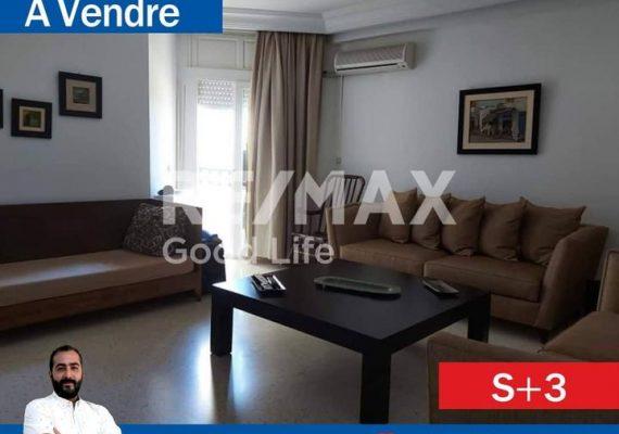 🚏RE/MAX Good Life vous propose à la #vente un #Appartement s+3️⃣ à #Ain_zaghouen.