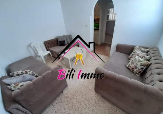🤩L'agence bili immobilière vous propose pour location annuelle un joli studio 🏠🏠 s+1 bien placée dans une quartier très calme et propre à khzema charkia