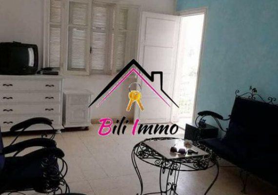 Agence #bili Immobilière vous propose un appartement s+3 sans meubles pour location annuelle