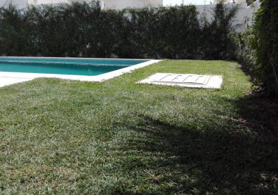 Location estivale 🔵 #JINEN_HAMMAMET 👉Une villa s+3 #Piscine