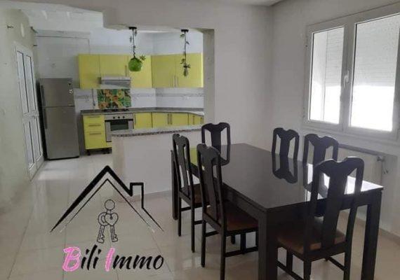 🎉🎉Immobilière #Bili vous propose un bel appartement s+2 meublé très haut gamme haut standing pour location annuel très bien placée dans un endroit propre