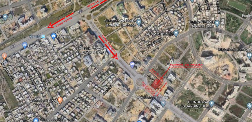 بيع شقة S + 2 حدائق قرطاج